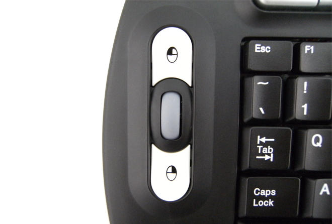 Mouse keys & Scroll Wheel