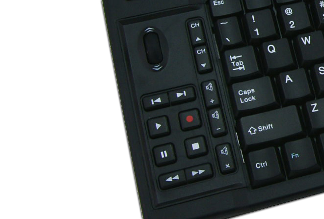 Scroll wheel & Multimedia Keys